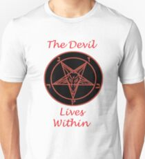 The Devil Lives Within  T-Shirt