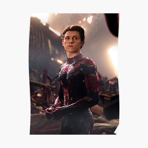Tom holland new costume Poster
