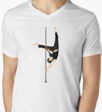Werk es T-Shirt mit V-Ausschnitt