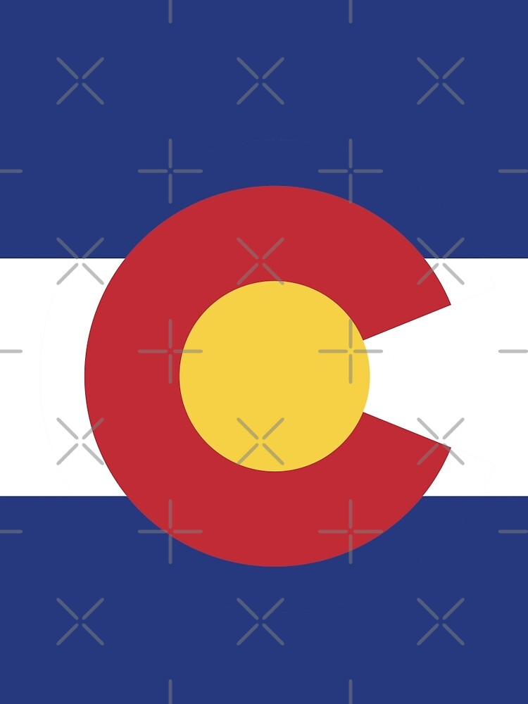 Colorado Flag by stoopiditees