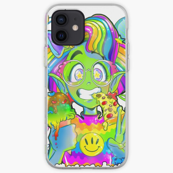 Rad 90s Space Girl! iPhone Soft Case