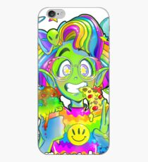 Rad 90s Space Girl! iPhone Case