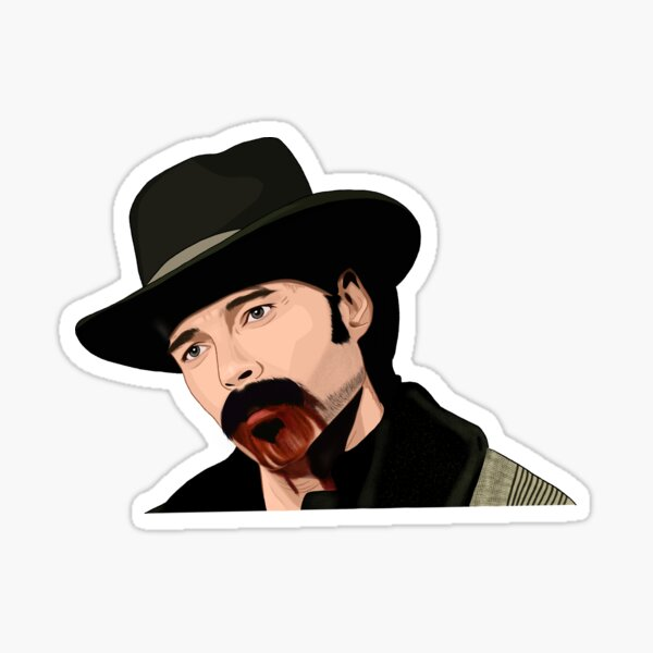 Doc Holliday Sticker