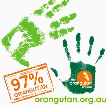 97% Orangutan Tee by Orangutan