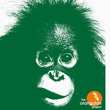 97% Orangutan Tee 2 by Orangutan
