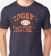 usa new york rust by rogers bros Unisex T-Shirt