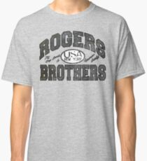 usa new york wood by rogers bros Classic T-Shirt