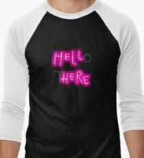 Hello There Men's Baseball ¾ T-Shirt