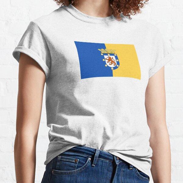 Flag of Santiago  Classic T-Shirt