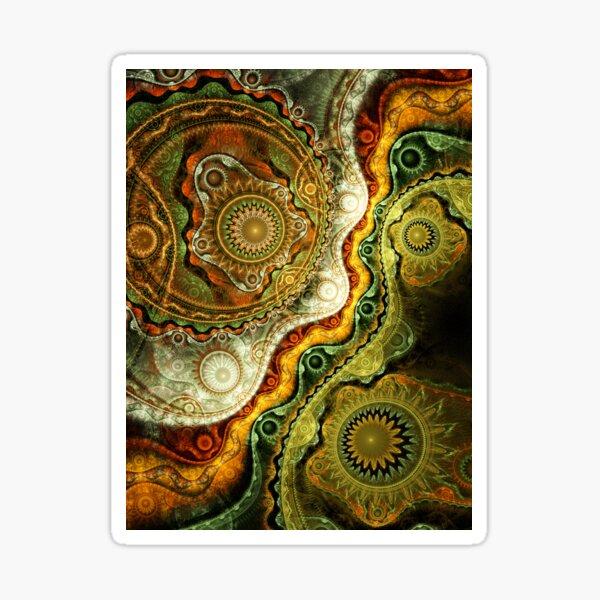 Autumn - Abstract Fractal Artwork Sticker