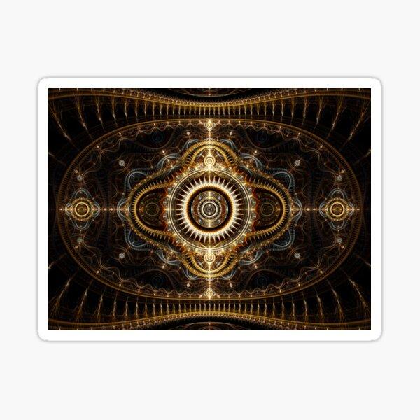 All Seeing Eye - Abstract Fractal Artwork Sticker