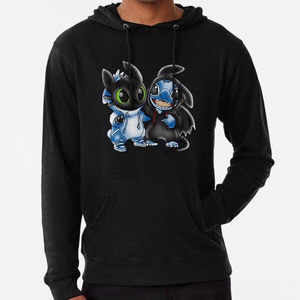 Stitch And Toothless Change Uniform Costume Uniform  Lightweight Hoodie