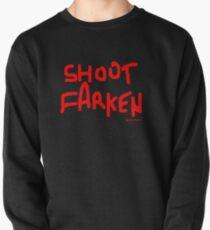 Shoot Farken Red Pullover