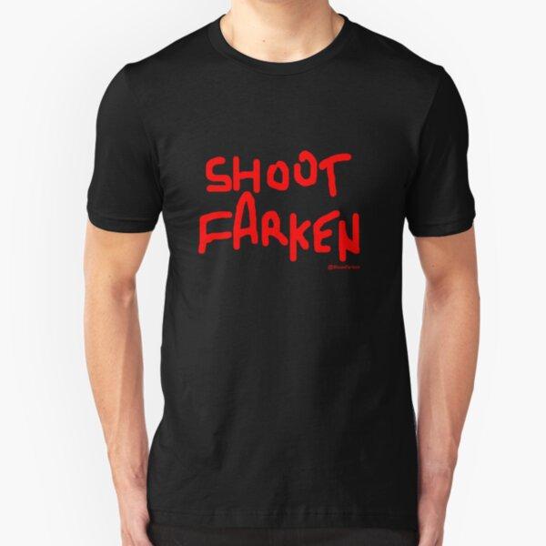Shoot Farken Red Slim Fit T-Shirt