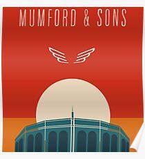 MUMFORD SON FALL TOUR Poster