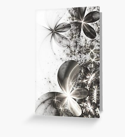 Stolen Colours - Abstract Fractal Artwork Greeting Card