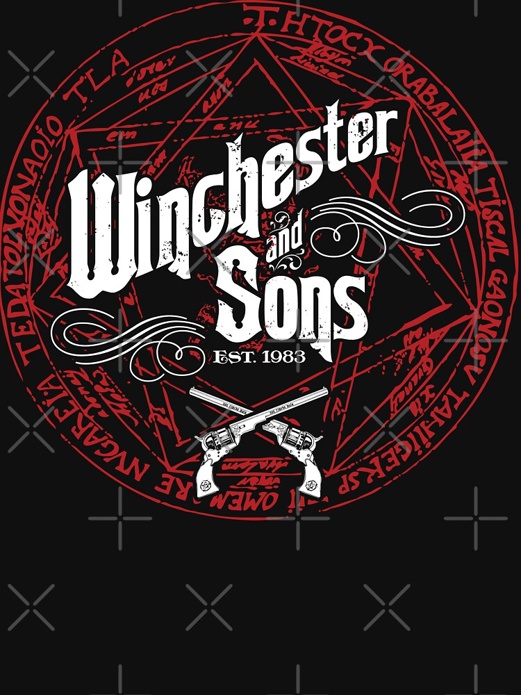 Winchester & Sons (Red Sigil) | Unisex T-Shirt