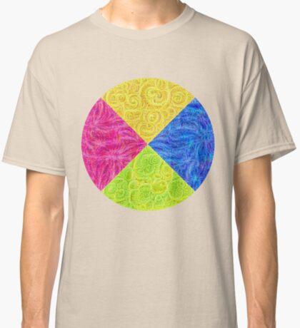 #DeepDream Color Circle Visual Areas 6x6K v1448932478 Classic T-Shirt