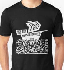 Angular Ship (White) T-Shirt
