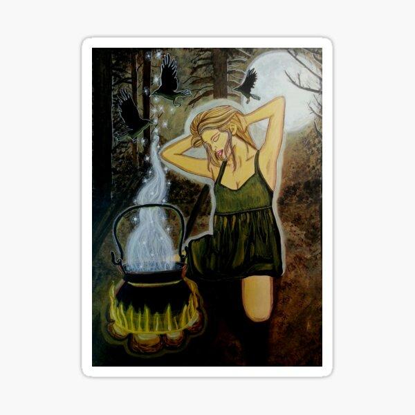 Moon Potion - Witch Art Sticker