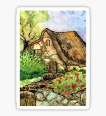 Fairytale Cottage Sticker