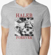 Haleb forever Men's V-Neck T-Shirt
