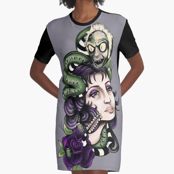 Daylight Come Graphic T-Shirt Dress