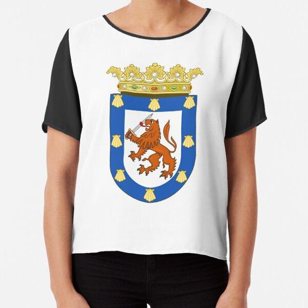 Coat of Arms of Santiago Chiffon Top