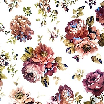 Vintage flowers by Ravenberryca