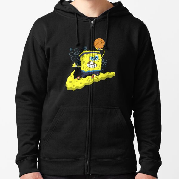 Basketball SpongeBob Shirts, Fan de Baskeball T-shirt classique Zipped Hoodie