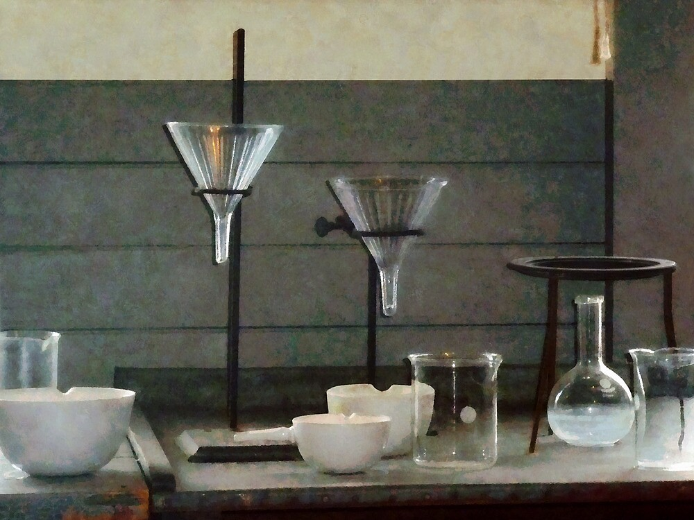 Funnels, Flasks and Crucibles by Susan Savad