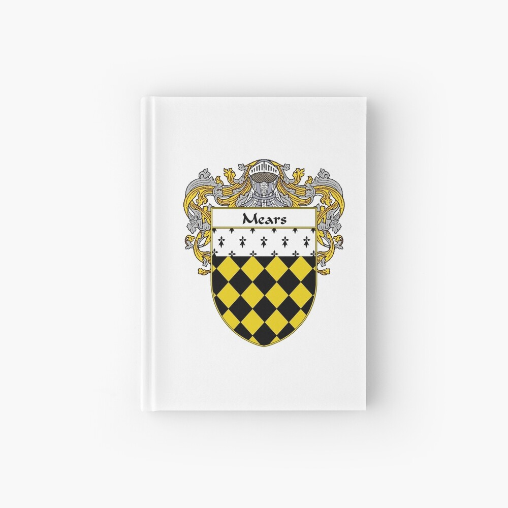 Mears Coat of Arms/Family Crest Hardcover Journal