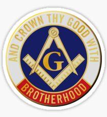 Crown Thy Good With Brotherhood Sticker