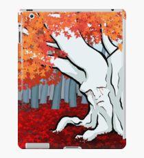 Weirwood tree in the Godswood iPad Case/Skin