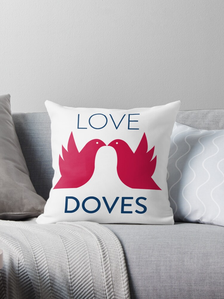 Love Doves Red by venitakidwai1