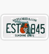 Florida Est 1845 Sticker