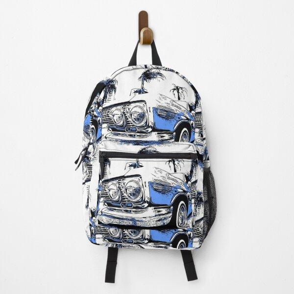 cartoon low rider Backpack