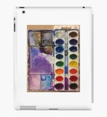 water color pallet  iPad Case/Skin