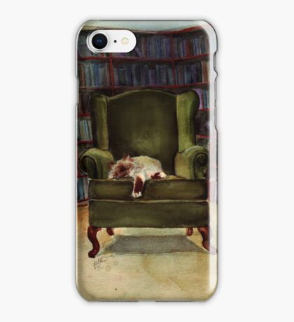 Monkey the Cat iPhone Case/Skin