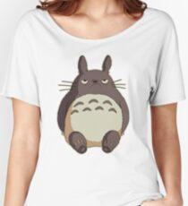 Grumpy Totoro Women's Relaxed Fit T-Shirt
