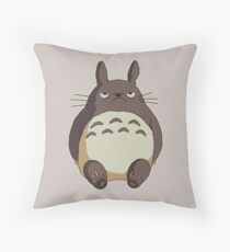 Totoro grincheux Coussin