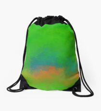 Jelesinia V1 - digital abstract Drawstring Bag
