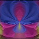 Painted Sheets Abstract No 4 by Wayne King