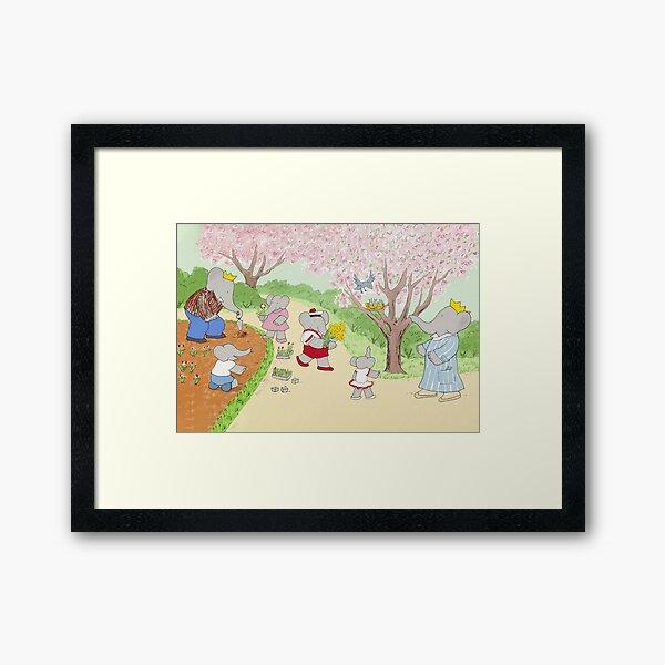 babar Framed Art Print