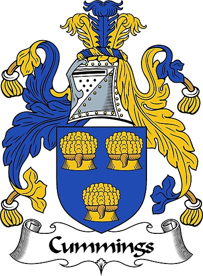 Cummings Coat of Arms / Cummings Family Crest by ScotlandForever