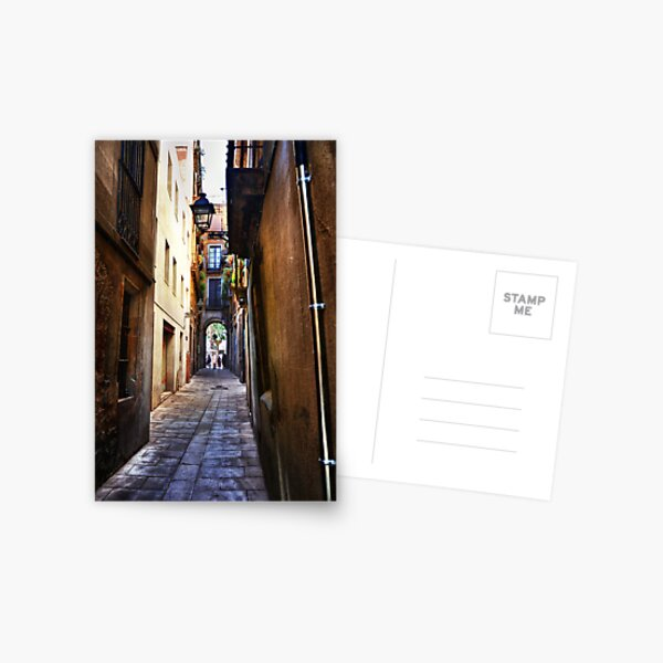 Archway and Narrow Alley Postcard