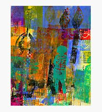 Eye Candy: Her CREATIVE Journey (Monotype) Photographic Print
