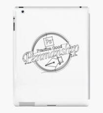 Pen Tool-manship iPad Case/Skin