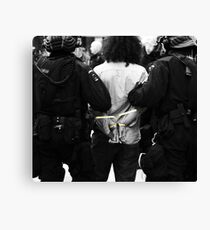 Arrested Canvas Print