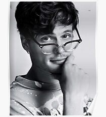 Matthew Gray Gubler with glasses Poster